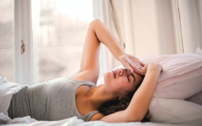 OVERWHELMED? Follow these tips to sleep better at night!
